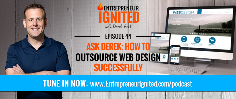 how to outsource web design