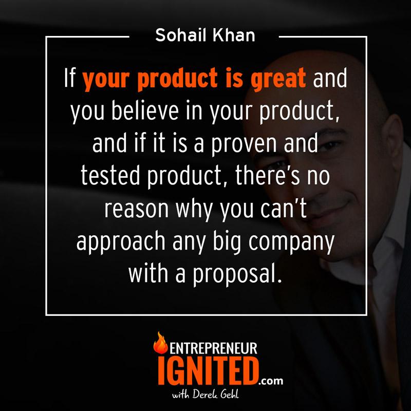 how to joint venture sohail khan