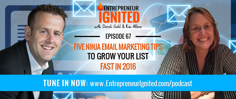 Five Ninja Email Marketing Tips To Grow Your List Fast In 2016