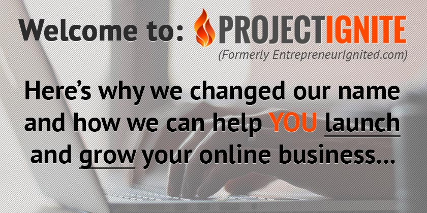 Welcome To Project Ignite