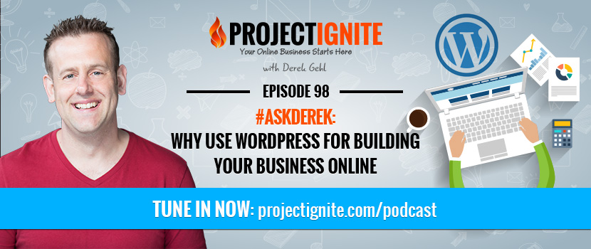 using wordpress to build a business website